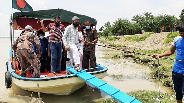 বাঁধ নির্মাণ সম্পন্ন হলে চারঘাট-বাঘার নদী হবে বিনোদন কেন্দ্র : প্রতিমন্ত্রী শাহরিয়ার